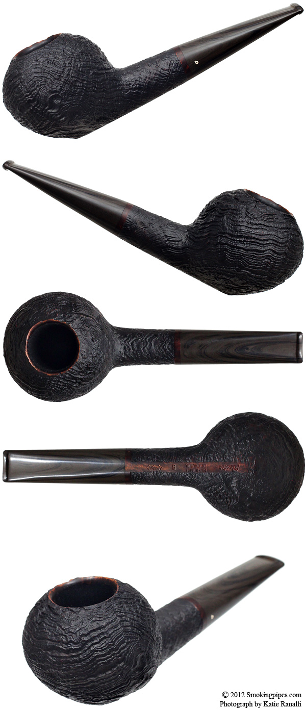 Sandblasted Strawberry Wood Acorn (Three Clubs)