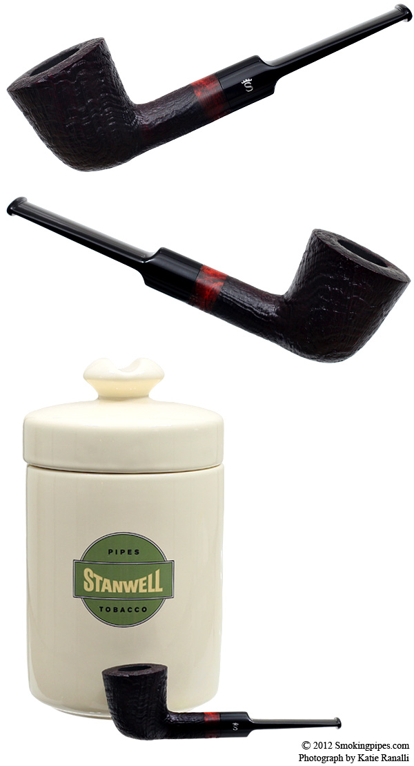 Extra Fine Sandblasted Dublin with Tobacco Jar (9mm)