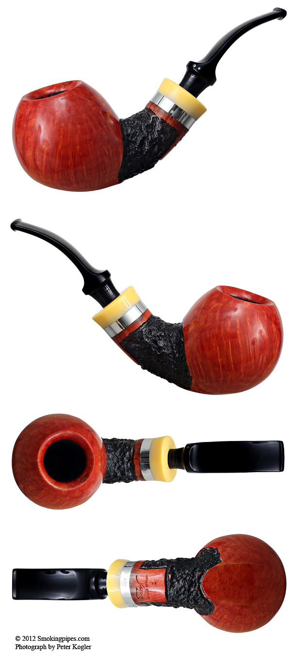 Ekstra Partially Rusticated Bent Apple (E)