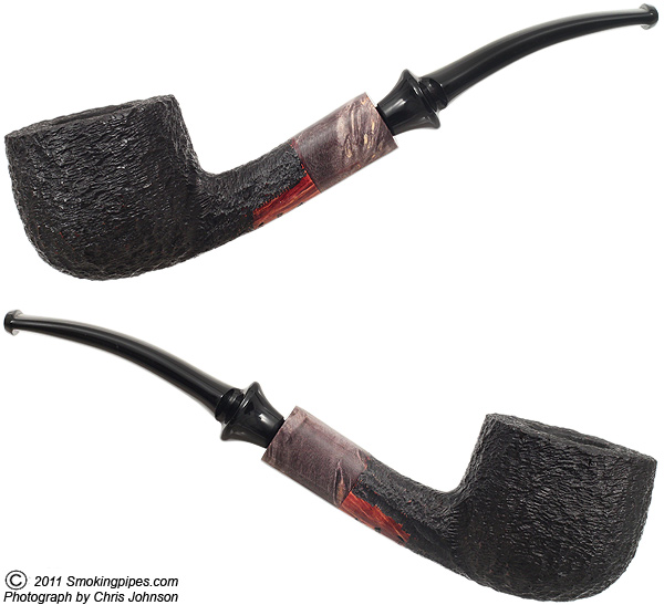 Galleon Rusticated Bent Pot (44)