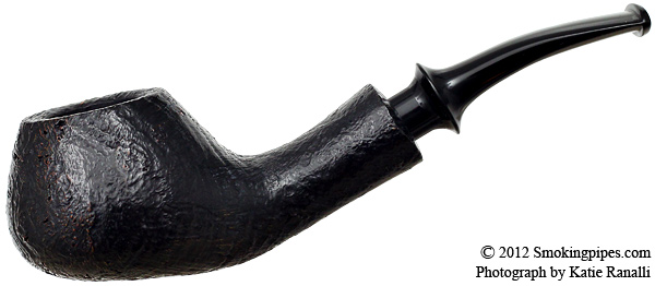 Kaga Sandblasted Bent Brandy