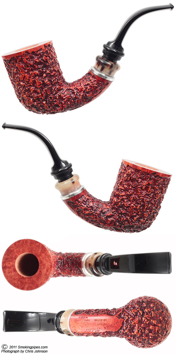 Rusticated Bent Billiard  with Pulchra Mount (R1) (Maxima)