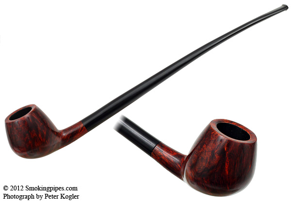 Smooth Bent Apple Churchwarden