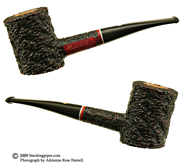 New Tobacco Pipes: Savinelli Rusticated Poker (C) At