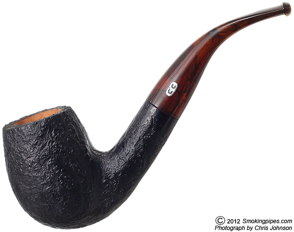 Sandblasted Bent Billiard (U3)