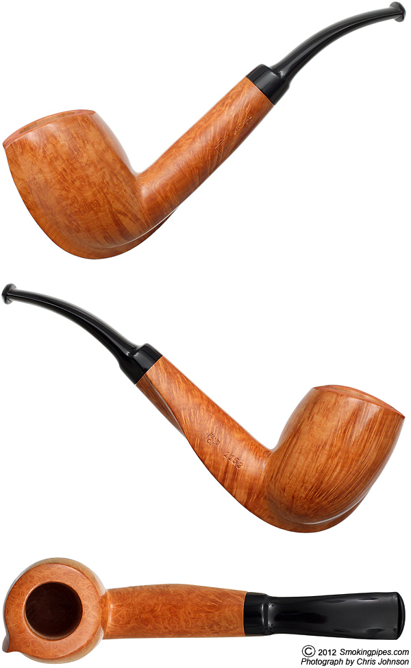 Smooth Freehand Bent Billiard
