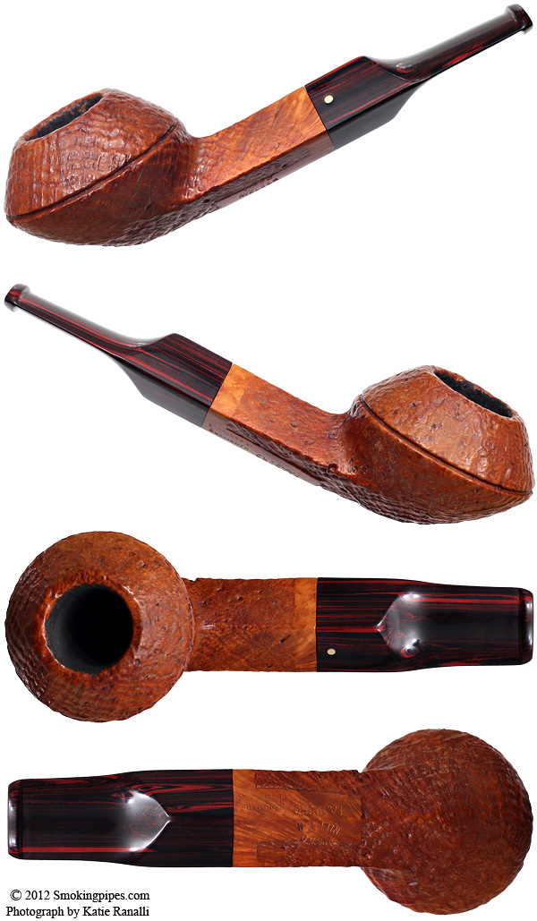 Viggo Nielsen Sandblasted Bulldog (9mm) (Unsmoked)