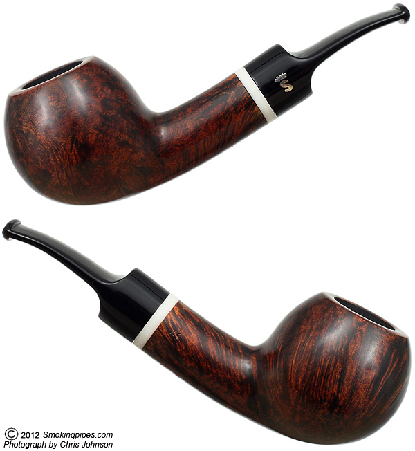 Stanwell Nanna Ivarsson Design IV Smooth Brown (9mm) (Unsmoked)