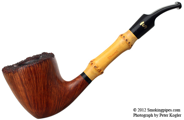 Stanwell Smooth Bamboo Bent Dublin (Refinished)
