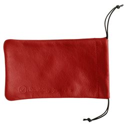 Maroon Smokingpipes.com Leather Pipe Bag