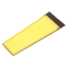Claudio Albieri Leather Cleaners Holder Yellow