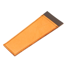 Claudio Albieri Leather Cleaners Holder Orange