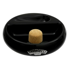 Savinelli Ceramic 1 Pipe Black Ashtray