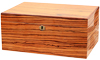Savoy Zebrawood Large Humidor