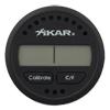 Xikar Round Digital Hygrometer Thermometer