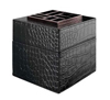Easy Scent Black Leather Cube Diffuser