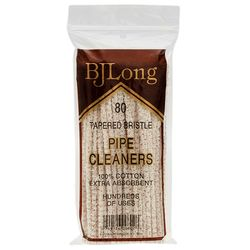 B. J. Long Bristle Tapered Pipe Cleaners (80 pack)