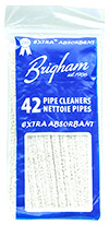 Brigham Extra Absorbent Pipe Cleaners (42 pack)