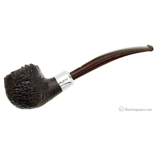 Brindle Bent Billiard with Silver Army Mount (XXX)