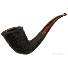 Sandblasted Strawberry Wood Bent Dublin (Three Clubs)