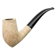 Sandblasted Strawberry Wood Bent Stack (Four Clubs)
