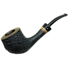 Sandblasted Bent Pot (Three Clubs)