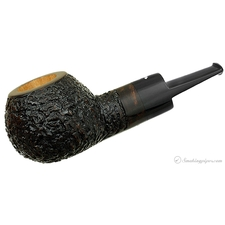 Smokingpipes.com Natale Rusticated Apple (2014) (with Stand)