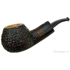 Smokingpipes.com Natale Rusticated Bent Apple (2014) (with Stand)