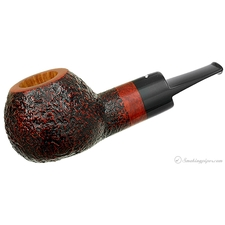 Smokingpipes.com Natale Sandblasted Apple (2014) (with Stand)