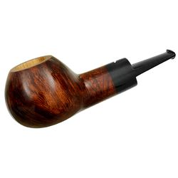 Smokingpipes.com Natale Smooth Brown Apple (2014) (with Stand)