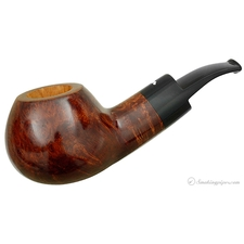 Smokingpipes.com Natale Smooth Brown Bent Apple (2014) (with Stand)