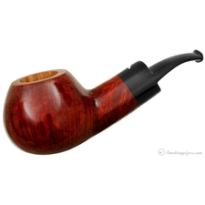 Smokingpipes.com Natale Smooth Orange Bent Apple (2014) (with Stand)