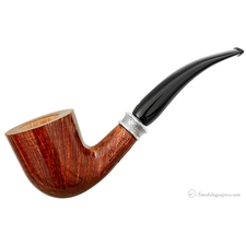 Ventura Smooth Bent Dublin with Silver