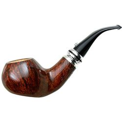 Calenda 2015 Smooth Bent Apple Sitter with Silver (025)