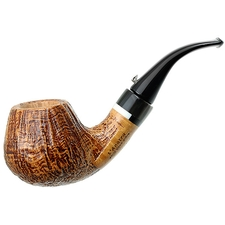 Sandblasted Bent Brandy with Horn