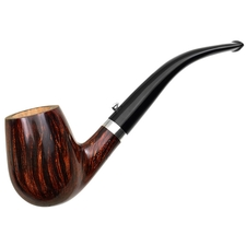 L'Anatra Smooth Bent Billiard with Silver (One Egg)
