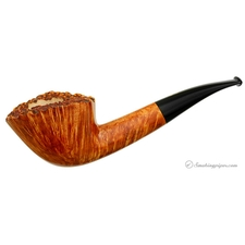 Clear Bent Dublin with Plateau (G) (with Tamper)