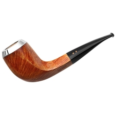 Radice Clear Bent Bulldog with Silver Cap