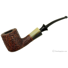 Nonpareil Rusticated Brown Bent Pot