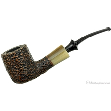 Nonpareil Rusticated Black Bent Pot