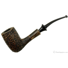Nonpareil Rusticated Black Bent Billiard