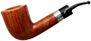 Autograph Smooth Bent Dublin with Silver (6) (6mm)