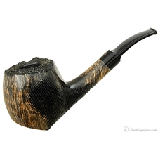 Crown Partially Rusticated Bent Apple Sitter (Viking)