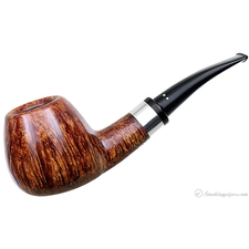 Smooth Bent Brandy with Silver (D)