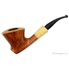 Patina Bent Dublin Sitter with Spalted Maple (77)