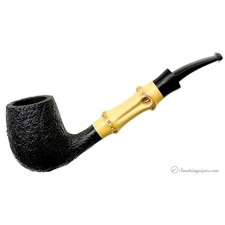 Sandblasted Bent Billiard with Bamboo