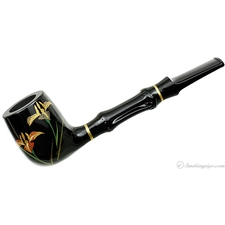 Urushi Iris Billiard with Bamboo and Tamper