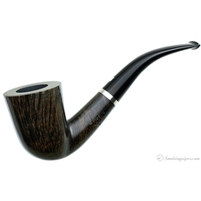 Niger Smooth Bent Dublin with Silver