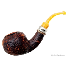 Classic Sandblasted Bent Apple