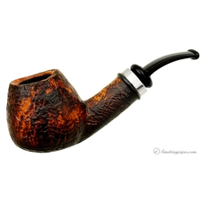 P. Jeppesen Handmade Ida Easy Cut Sandblasted Bent Brandy